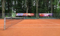 Municipal tennis courts in the Chopin Park