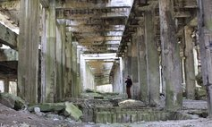 The Ruins Of A Former Factory Of Synthetic Petrol