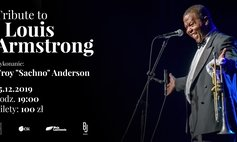 "Koncert Tribute to Luis Armstrong - Troy ""Sachno"" Anderson"