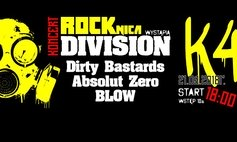 Rocznica Division (Dirty Bastards/Blow/Absolut Zero/Division)