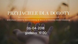 "Charity Concert ""Friends For Dorota"""
